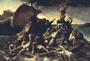 メデューズ号の筏 本当に『怖い絵』