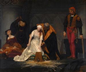 レディ・ジェーン・グレイの処刑 本当に『怖い絵』