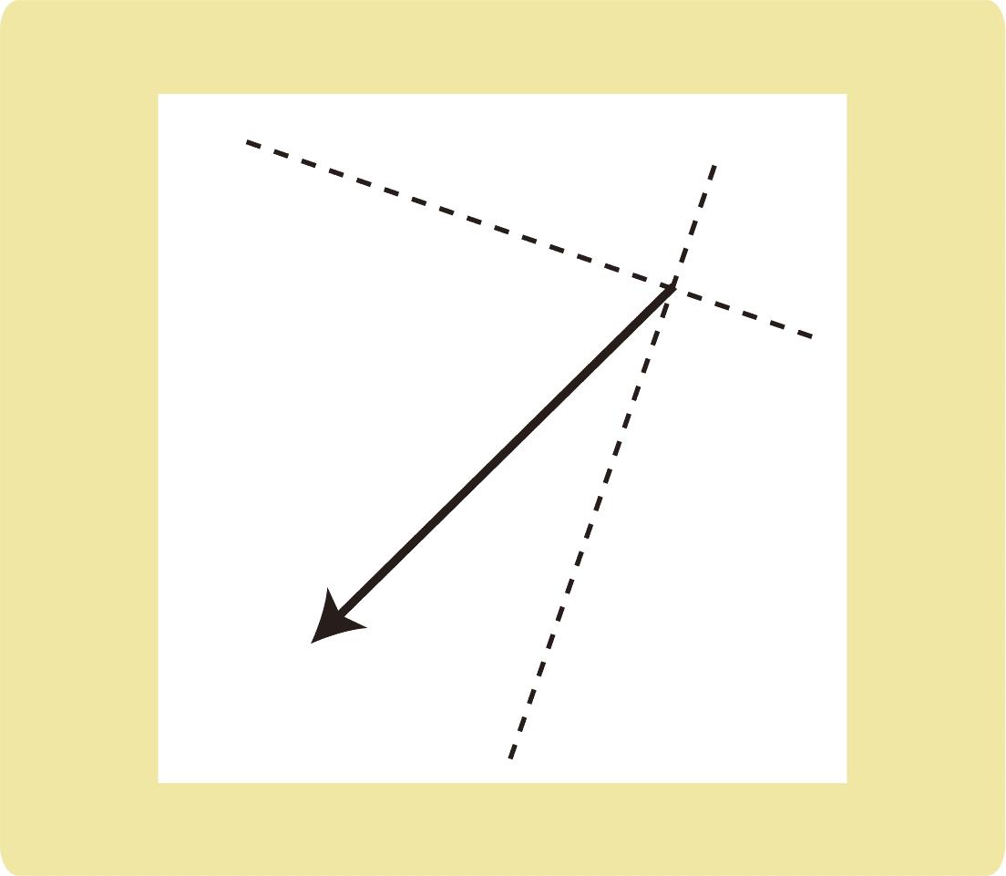 力の分解_作図_例題2
