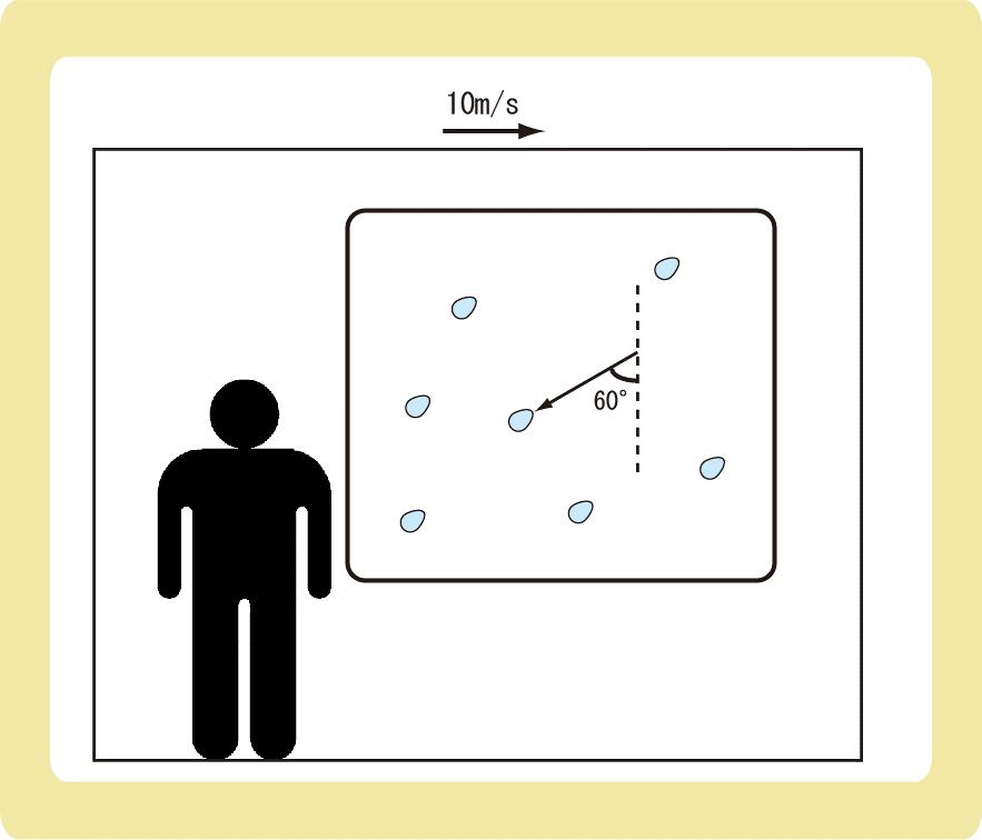 相対速度の例題